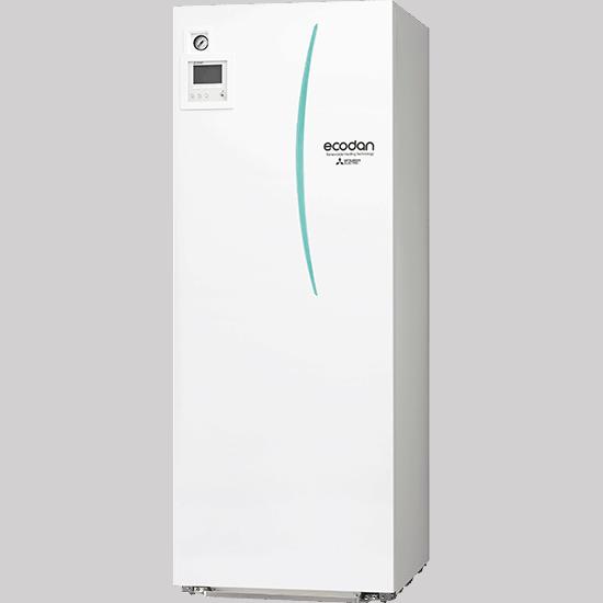 Mitsubishi Electric Ecodan vilp ilmavesipumppu ilma-vesipumppu asennus pudasjärvi oulu lappi huolto lvi